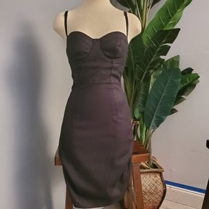 All Black Marciano bodycon dress size 2